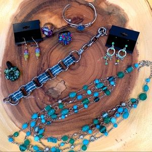 5$ Add On 8 Pieces of Jewellery Bundle
